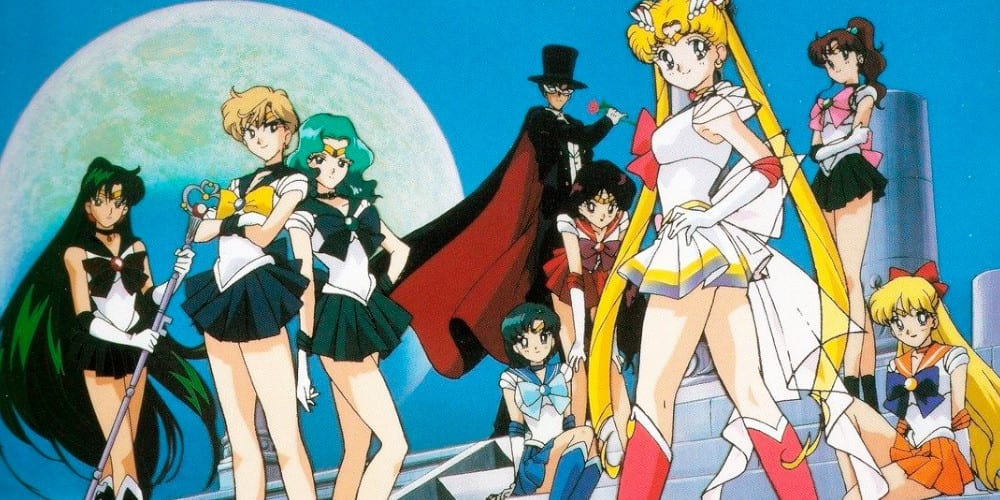 Sailor Moon anime streaming featured.