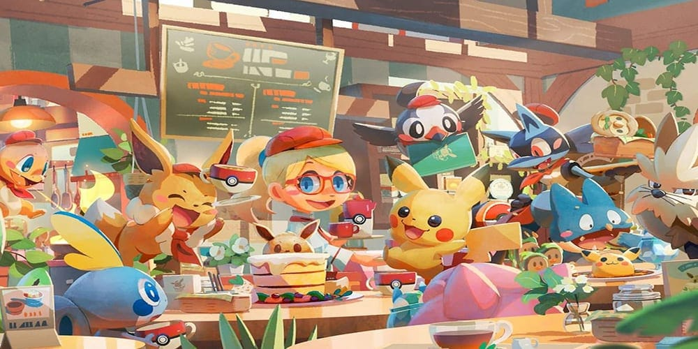 pokemon cafe mix review
