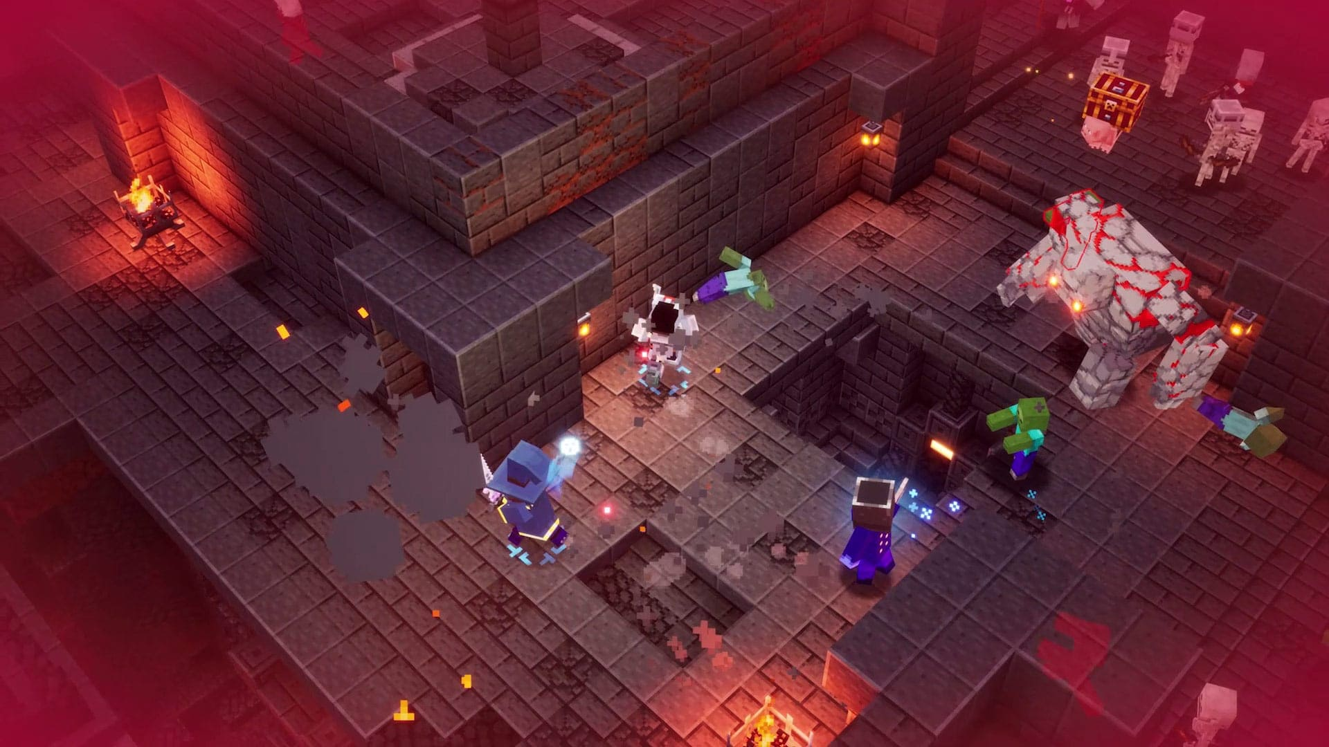 minecraft dungeons eshop sales