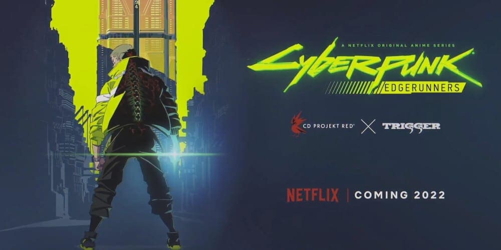Cyberpunk 2077 anime series featured.