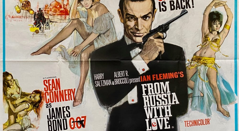 from russia with love retro