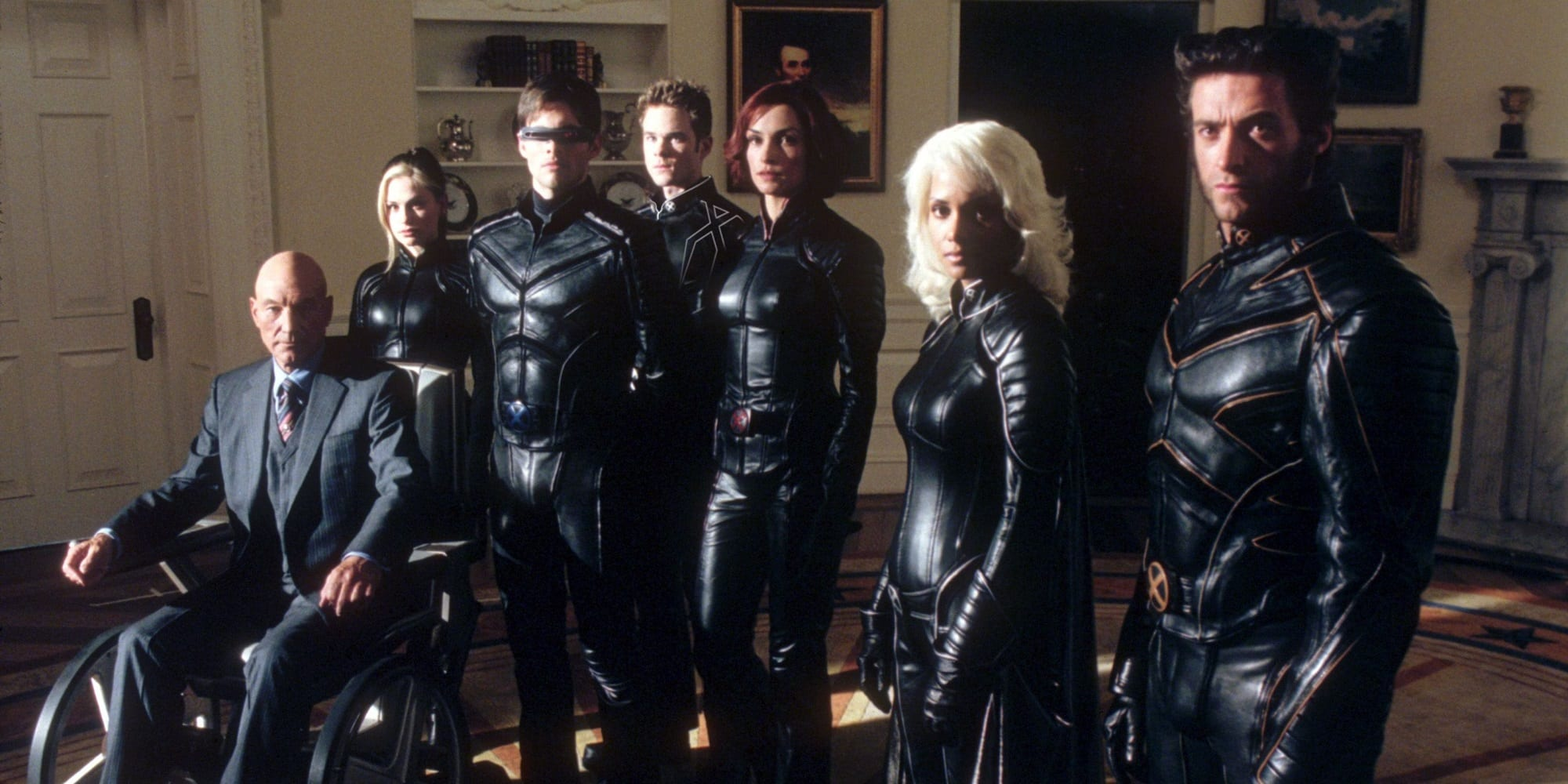 20th anniversary X-Men Hugh Jackman Wolverine Patrick Stewart Professor X Halle Berry Storm James Marsden Cyclops Anna Paquin Rogue Iceman Shawn Ashmore