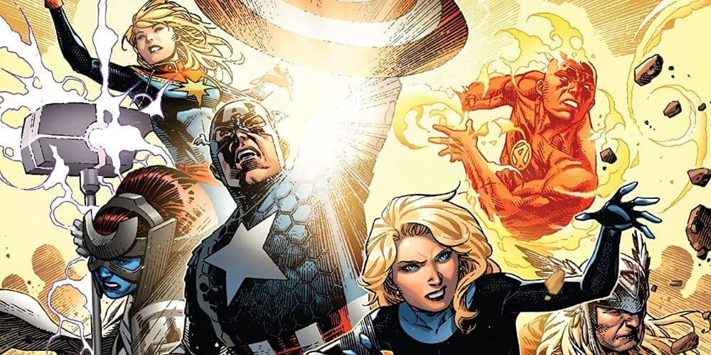 Empyre, Avengers, Marvel's Empyre, July Checklist, Hulkling, Al Ewing, Dan Slott, Iron Man, Captain America, Fantastic Four