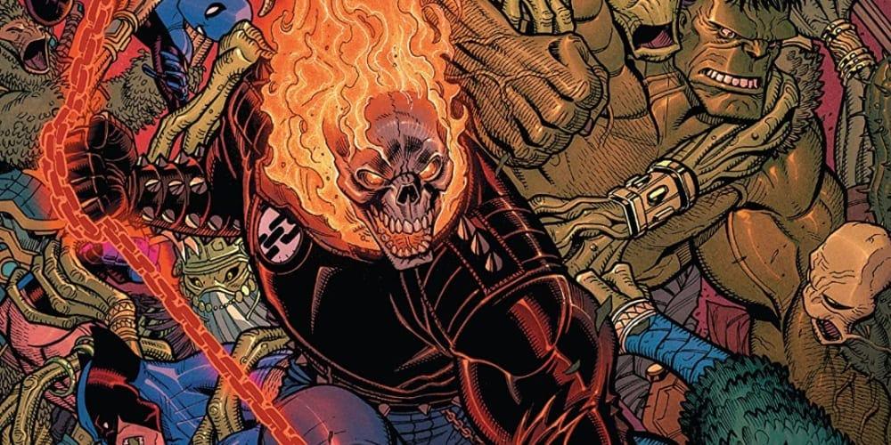 Ghost Rider, Wolverine, Hulk, Spider-Man, Fantastic Four, Avengers, X-Men, Empyre