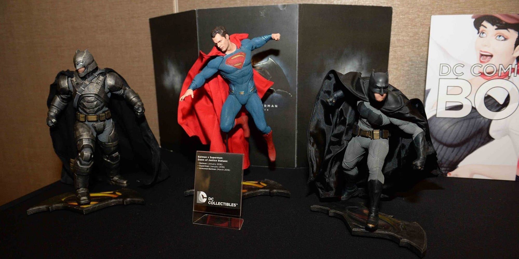 DC Direct Future Collectibles BvS Featured