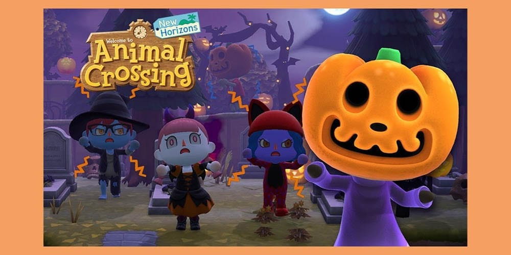 animal crossing halloween event