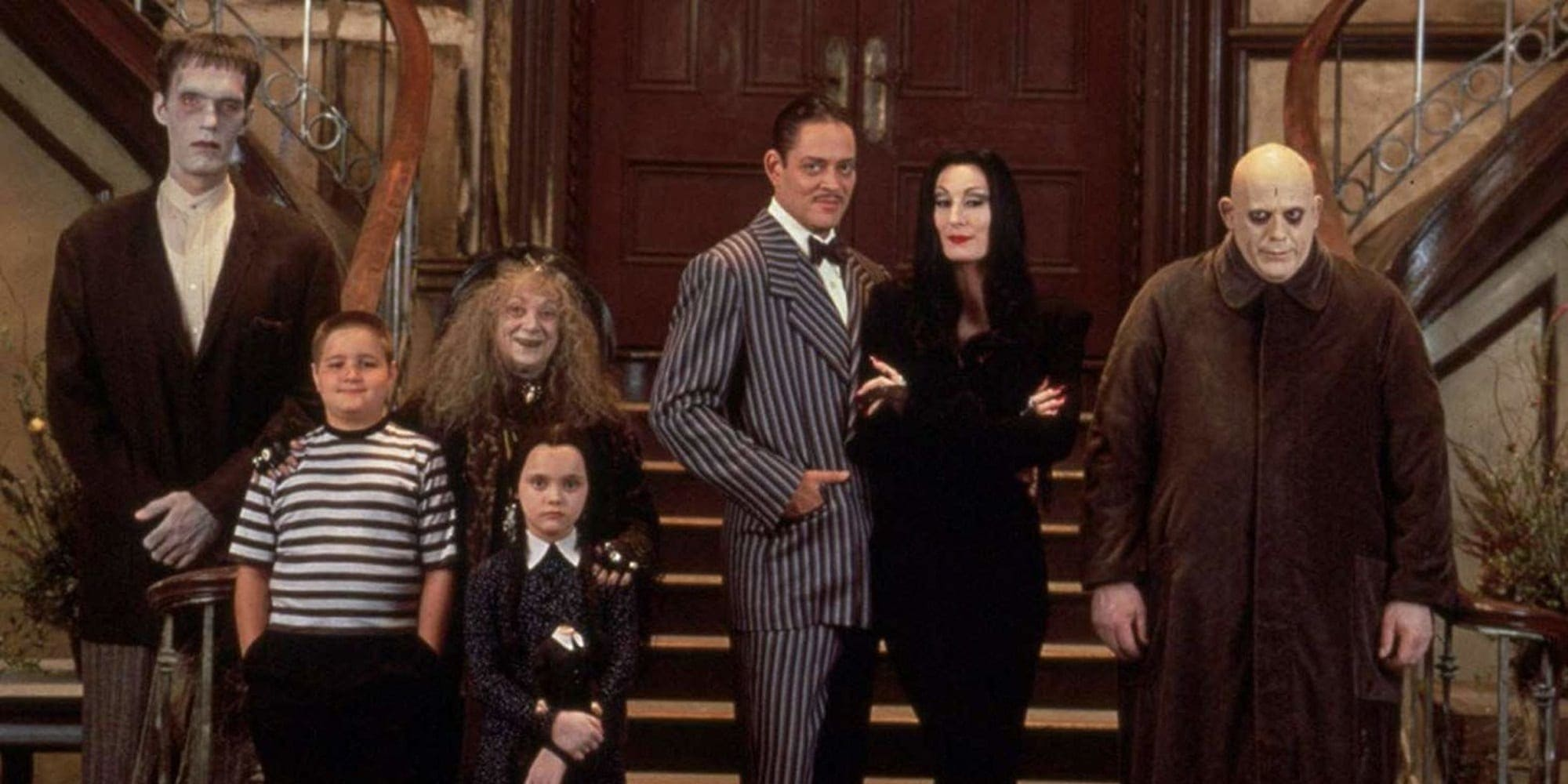 The Addams Family Live-Action Tim Burton Featured Image (But This is the 1991 Version) 1991 Addams Family film.
