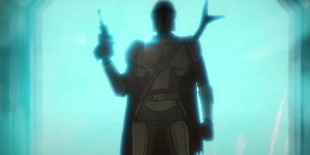 The Mandalorian anime Mando.