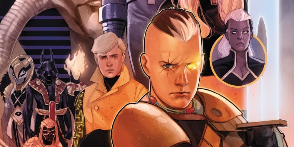 Cable #6: X of Swords Chapter Nineteen, X-Men, X-Force, Krakoa, Arakko, Nathan Summers, Cyclops, Gorgon, Bei The Blood Moon, Saturnyne, Apocalypse, Annihilation, Otherworld, Saturnyne, The White Sword of the Citadel, Jean Grey, Excalibur