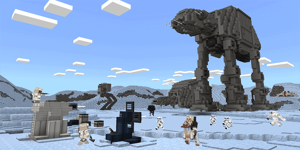 star wars minecraft dlc