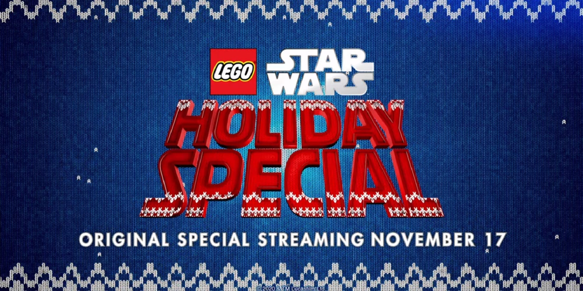 Star Wars Lego Holiday Special Trailer Featured Screengrab