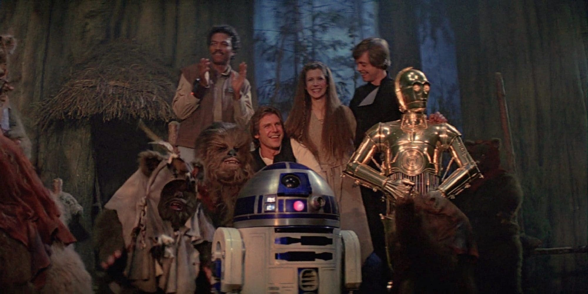 US Election Return of the Jedi celebrations Featured screengrab