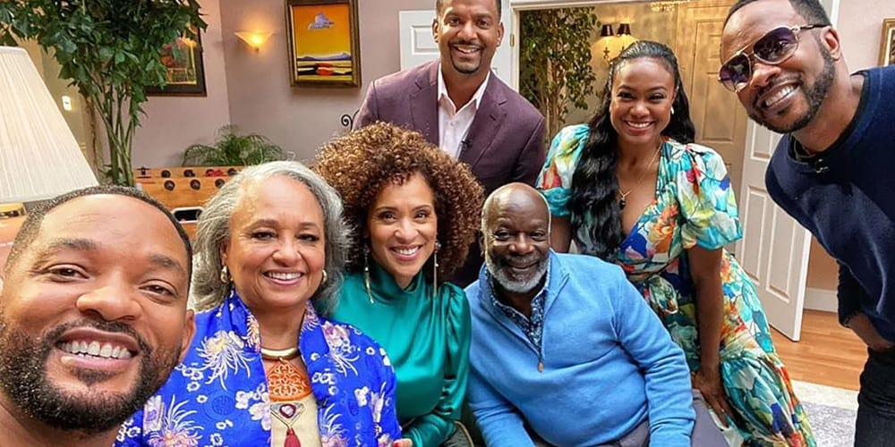 Fresh Prince reunion trailer featured.