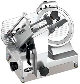 8. KWS MS-12HP Premium 450w Electric Meat Slicer 12-Inch Stainless Blade