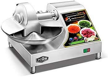 9. KWS BC-400 Commercial 1350W 1.5HP Stainless Steel Buffalo Chopper Bowl Cutter Food Processor