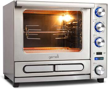 9. Gemelli Twin Oven, Professional Grade Convection Oven