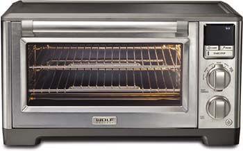 6. Wolf Gourmet Elite Digital Countertop Convection Toaster Oven