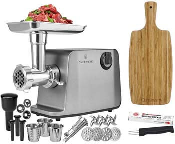 9. ChefWave Electric Meat Grinder