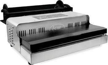 9. LEM Products 1088B MaxVac 1000 Vacuum Sealer with Bag Holder & Cutter, Grey