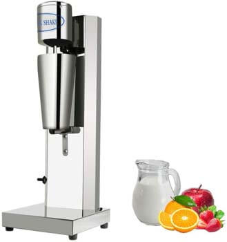 4. KUNHEWUHUA Milkshake Maker Stainless Steel Smoothie Maker Blender