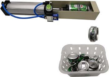 8. Lhfacc Air Cylinder Can Crusher Heavy Duty Efficient Soda Beer Smasher
