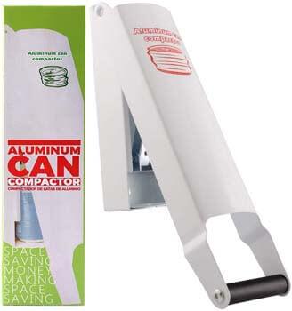7. Super Leader Aluminum Can Compactor