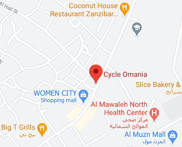 Cycle Omania Location Map