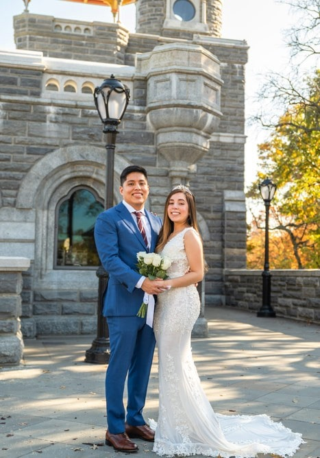 Photo 3 Francisco and Maria wedding ceremony at the Belvedere Castle