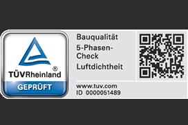 TÜV Rheinland Bauqualitätscontrollings (BQC-4-5-Phasencheck)