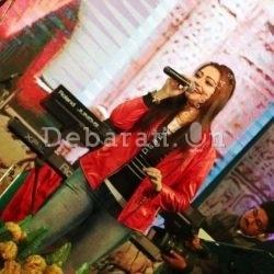debarati live show