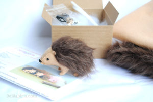 hedgehog sewing kit