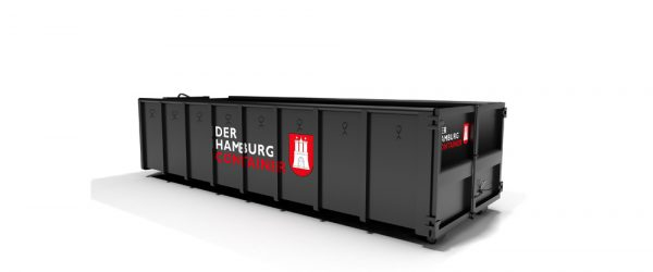 18 kubikmeter Abrollcontainer