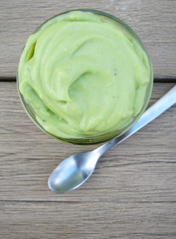 Luscious Avocado Lemon Cream