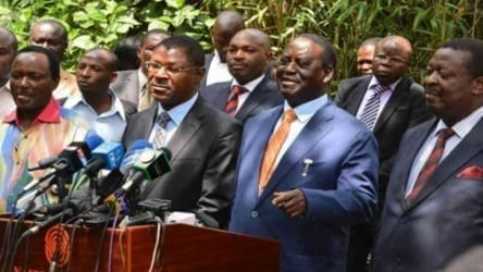Image result for Jubilee Member of Parliament claims Mudavadi, Kalonzo will leave NASA
