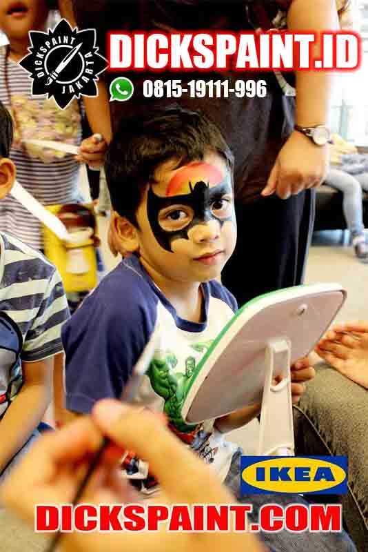 face painting anak jakarat