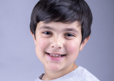 kids headshot photography