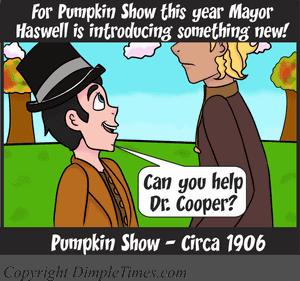 Pumpkin Show B-Day - Happy Circa - October 2018 Panel 1