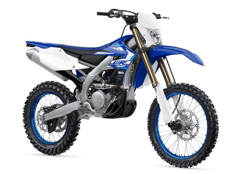 Yamaha WR250 trail dirt bike