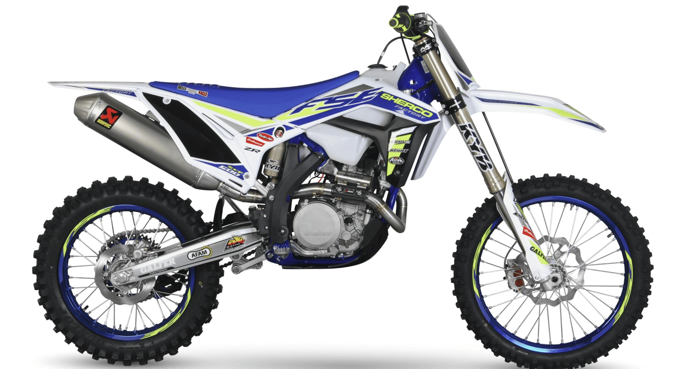 2020 Sherco dirt bike
