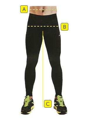 Rozmiary strojów sportowych dla seniorów - spodnie, spodenki