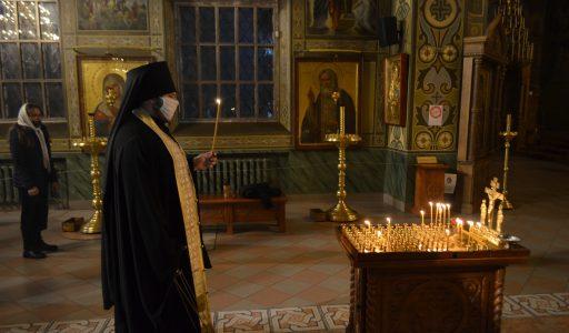 На регентско-певческом отделении ДДС молитвенно почтили память архимандрита Матфея (Мормыля)