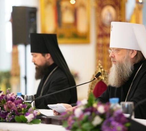 Ректор ДДС принял участие в годовом Епархиальном собрании