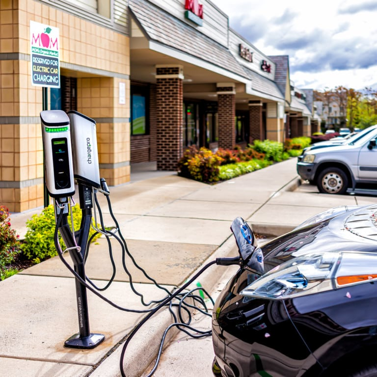 Hosting EV charging