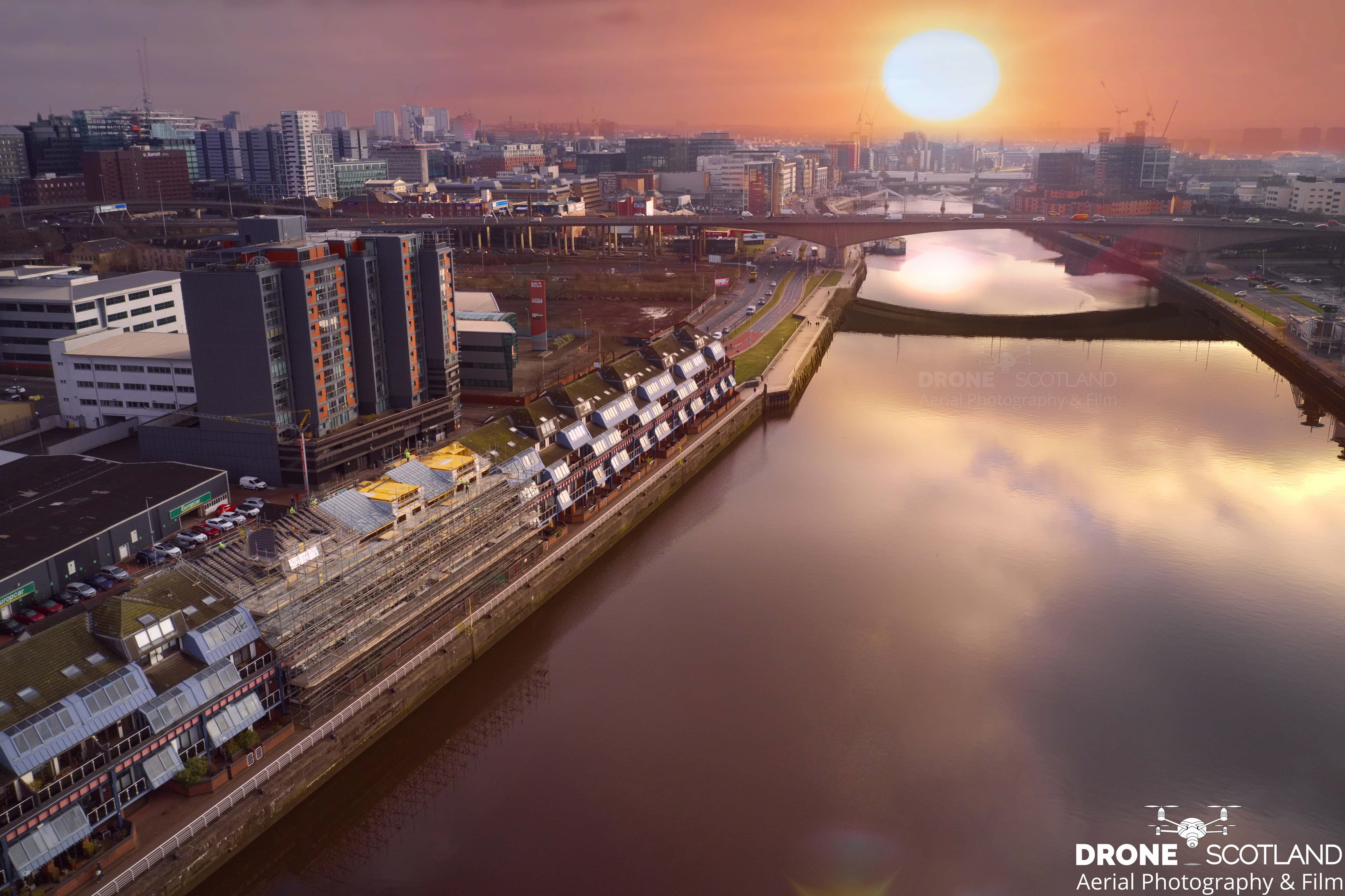 Glasgow-sunrise-February-2021