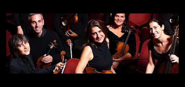 New Century Chamber Orchestra feat Nadja Salerno-Sonnenberg, violin
