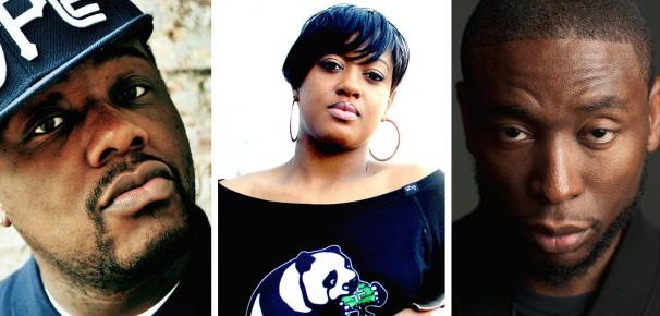 Hip-Hop in the Gardens featuring Phonte, Rapsody & 9th Wonder