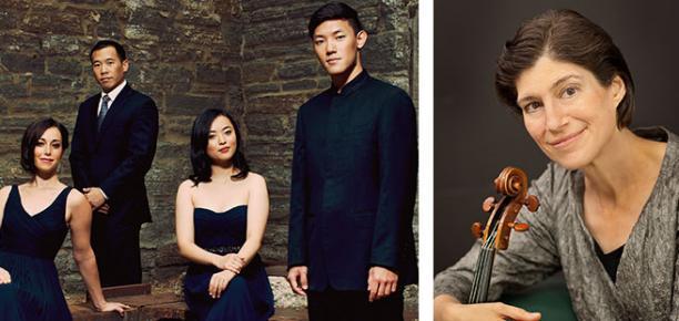 Parker Quartet featuring Kim Kashkashian, viola