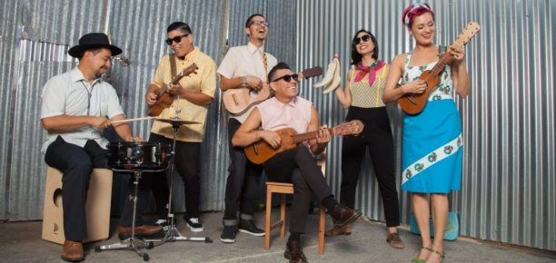 Music in the Gardens: Las Cafeteras