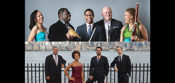 Imani Winds <br>& Harlem Quartet <br><em>Passion for Bach & Coltrane</em>
