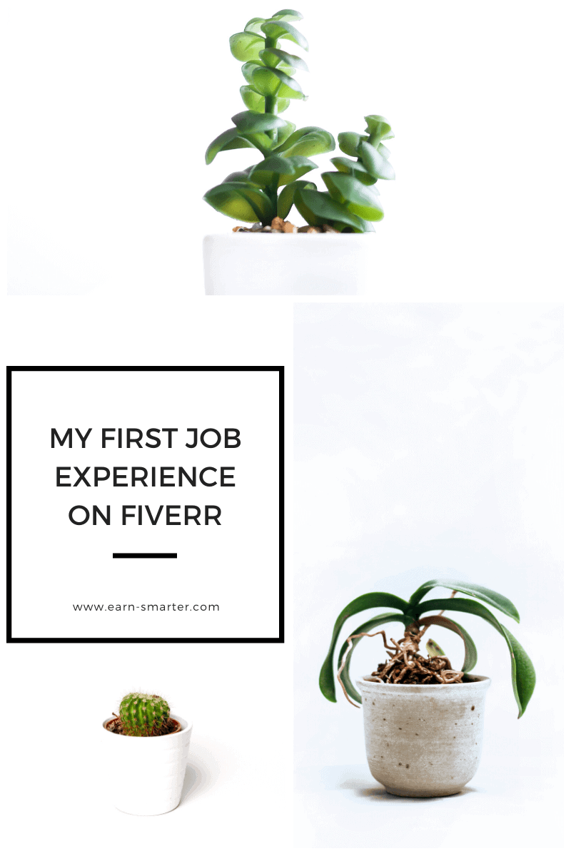 My first job experience on Fiverr